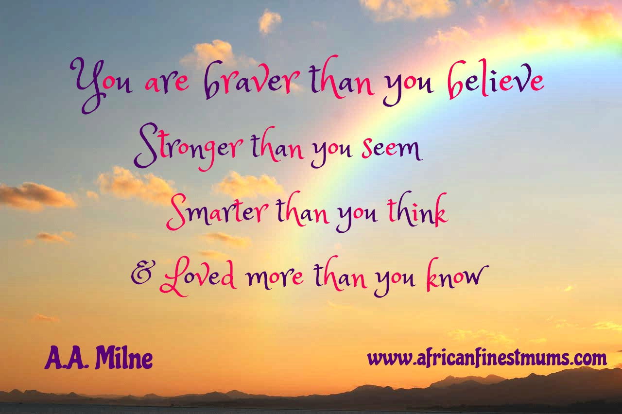 Motivational quotes - Braver than you think